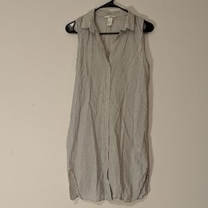 H&M Button down tunic